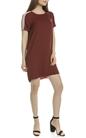 SCOTCH & SODA-Γυναικείό φόρεμα SCOTCH & SODA καφέ