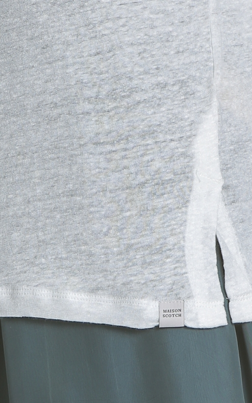 SCOTCH & SODA-Γυναικείο T-shirt SCOTCH & SODA λευκό
