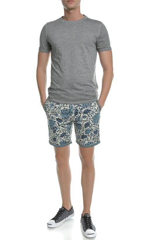 SCOTCH & SODA-Ανδρικό t-shirt Scotch & Soda Summer tee γκρι