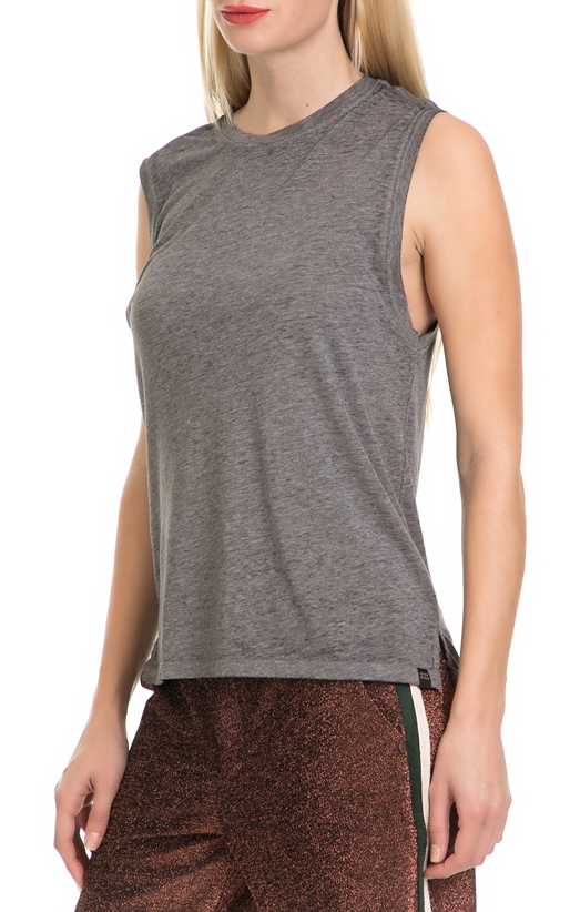 SCOTCH & SODA-Γυναικεία αμάνικη μπλούζα SCOTCH & SODA γκρι