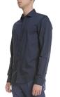 SCOTCH & SODA-Ανδρικό μακρυμάνικο πουκάμισο SCOTCH & SODA μπλε