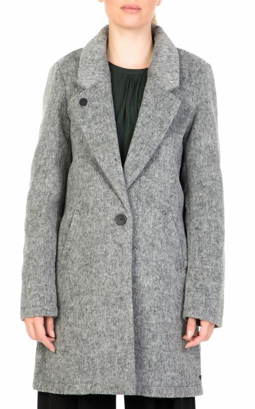 SCOTCH   SODA-Γυναικείο παλτό SCOTCH   SODA γκρι 1d53fc86646