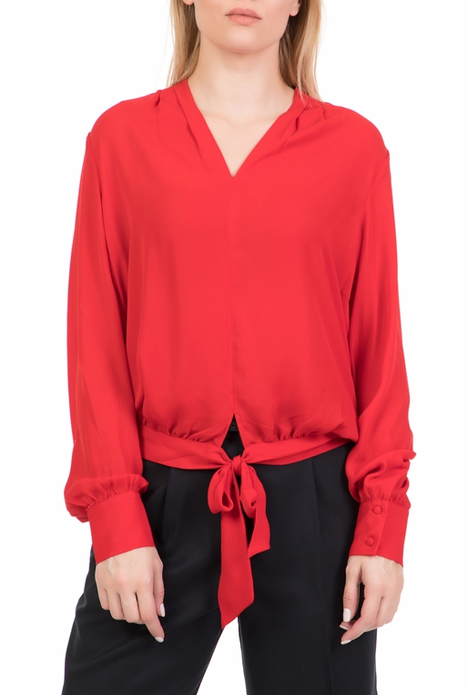 d9b6cd99aa2a SCOTCH   SODA-Γυναικεία μακρυμάνικη μπλούζα SCOTCH   SODA κόκκινη
