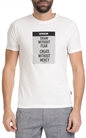 SORBINO-Ανδρική κοντομάνικη μπλούζα Sorbino λευκή