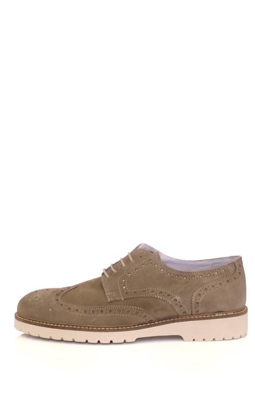 SORBINO-Ανδρικά παπούτσια SORBINO καφέ