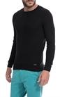 SSEINSE-Ανδρικό πουλόβερ SSEINSE μαύρο