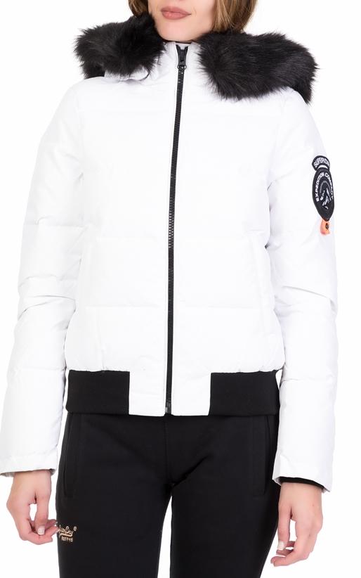 Γυναικείο μπουφάν D1 EVEREST ELLA BOMBER λευκό - SUPERDRY (1714293 ... 9e748b5dd3d