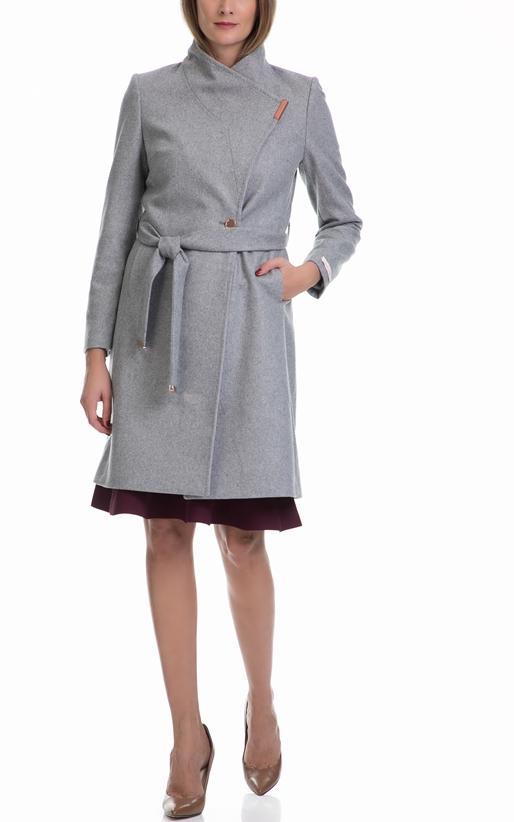 Γυναικείο παλτό KHERA TED BAKER γκρι (1568130)  5de10f30658