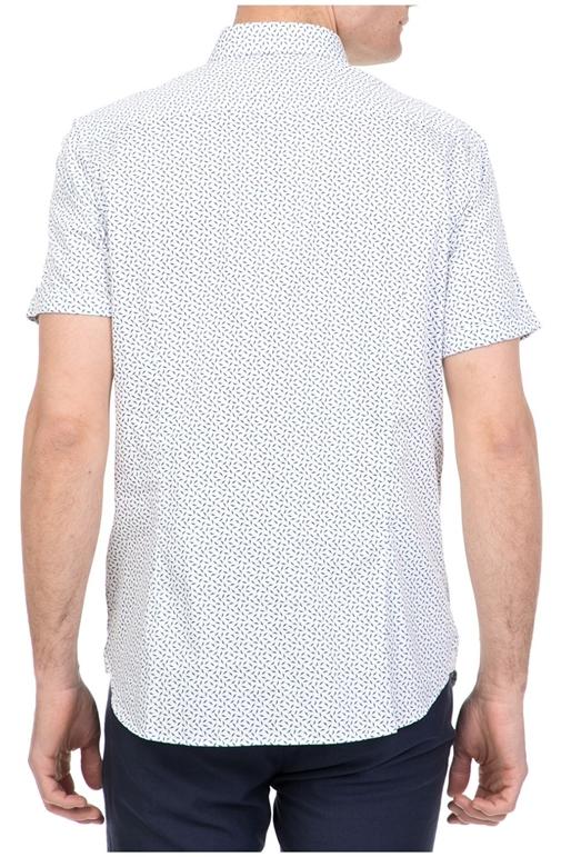 00f50768551c Ανδρικό κοντομάνικο πουκάμισο NARNAR TED BAKER λευκό-μπλε (1612259 ...