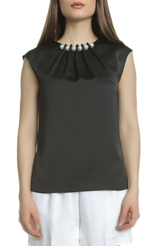 Αμάνικη μπλούζα με πέρλες TED BAKER μαύρη (1612690)  0e9fb2b99b7