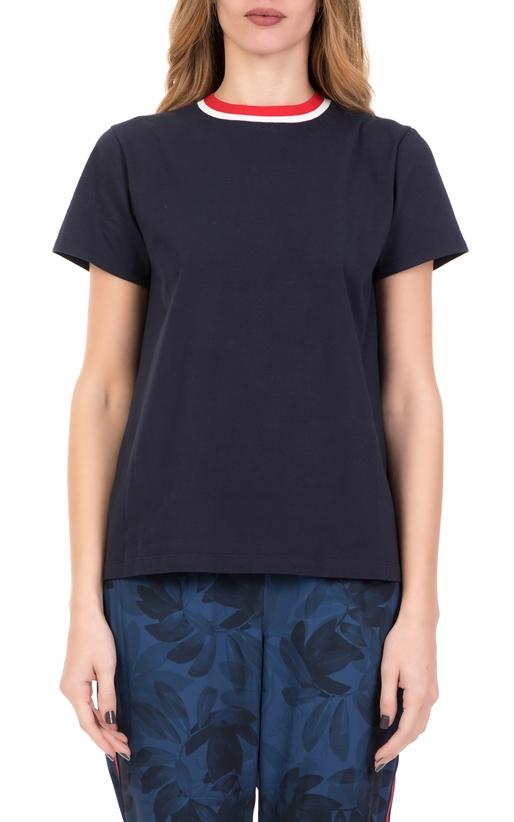 Γυναικεία κοντομάνικη μπλούζα TED BAKER LEBBY μπλε (1707386 ... 9b441e38e01