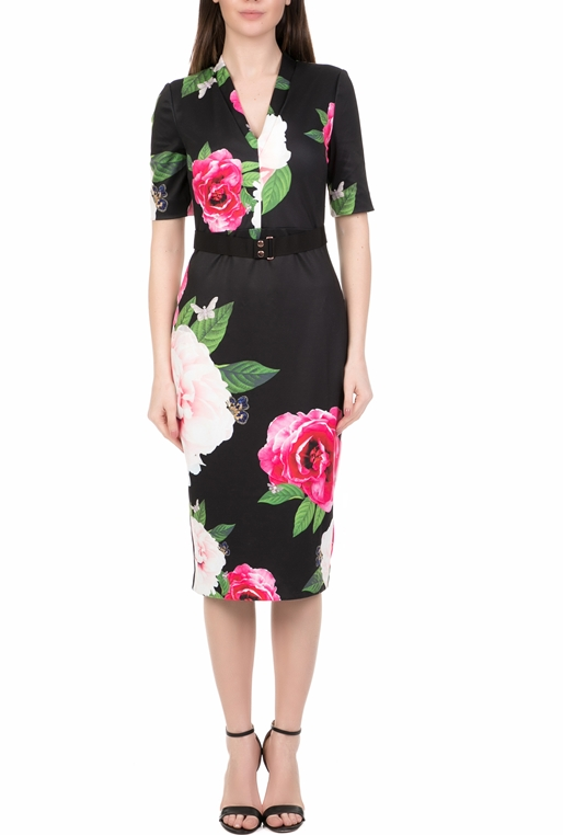 5164190b6e2d Γυναικείο midi pencil φόρεμα TED BAKER GILANNO μαύρο (1707481 ...