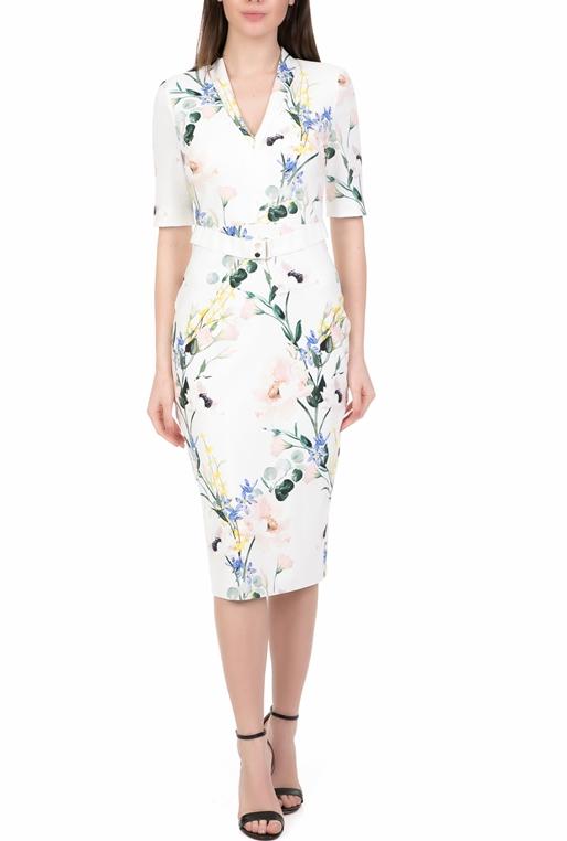 a5ee9d379c6a Γυναικείο midi pencil φόρεμα TED BAKER LYLLI λευκό (1707544 ...