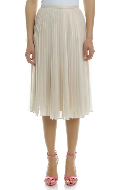 6dedee35e4 Γυναικεία φούστα PLEATED MIDI μπεζ - TED BAKER (1527099 ...