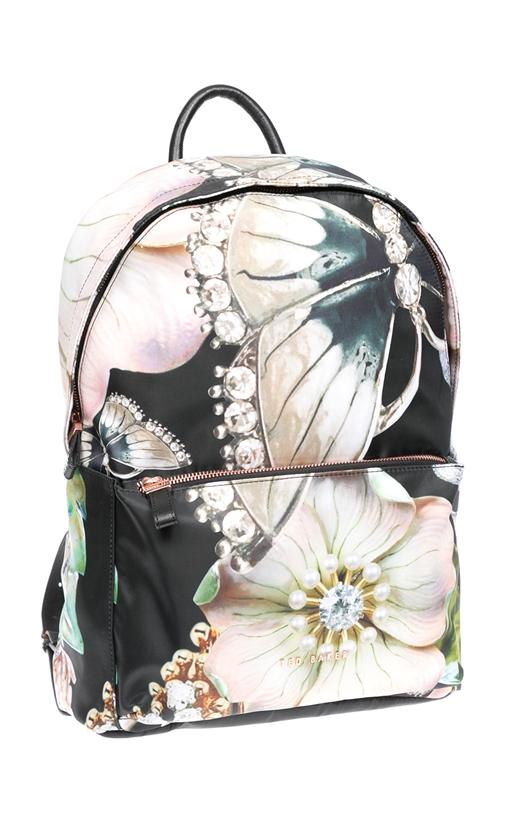 Τσάντα πλάτης Ted Baker μαύρη-ροζ (1527220)  ca2bdf07a23