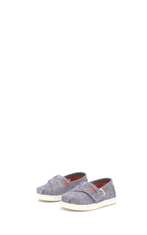 TOMS-Παιδικά slip on παπούτσια TOMS μπλε