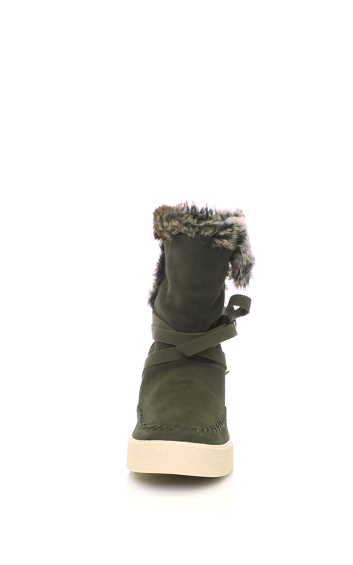 TOMS-Γυναικεία μποτάκια FOREST λαδί