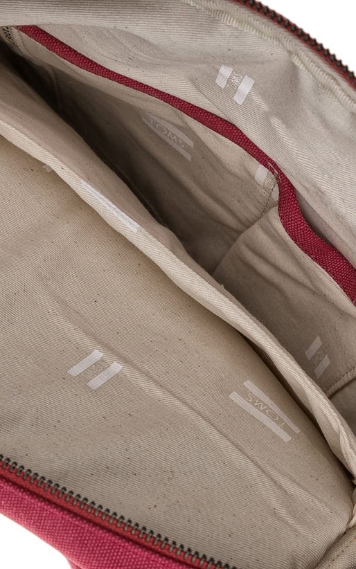 TOMS-Unisex τσάντα πλάτης DESERT TAUPE TOMS κόκκινη