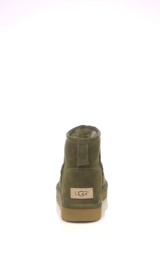 UGG-Γυναικεία μποτάκια Classic Mini II λαδί