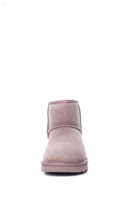 UGG-Γυναικεία μποτάκα CLASSIC MINI II METALLIC UGG AUSTRALIA ροζ