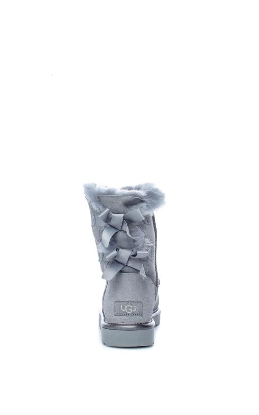 UGG-Γυναικεία μποτάκια BAILEY BOW II METALLIC γκρι