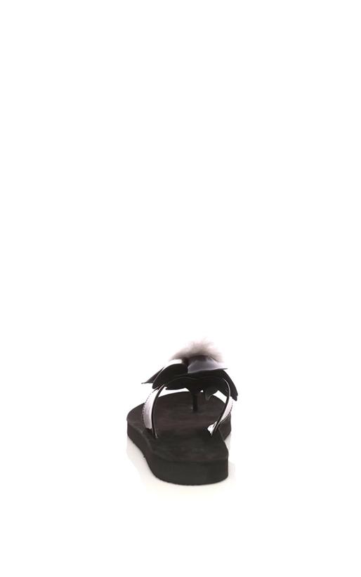 UGG AUSTRALIA-Γυναικείες σαγιονάρες UGG POPPY μαύρες