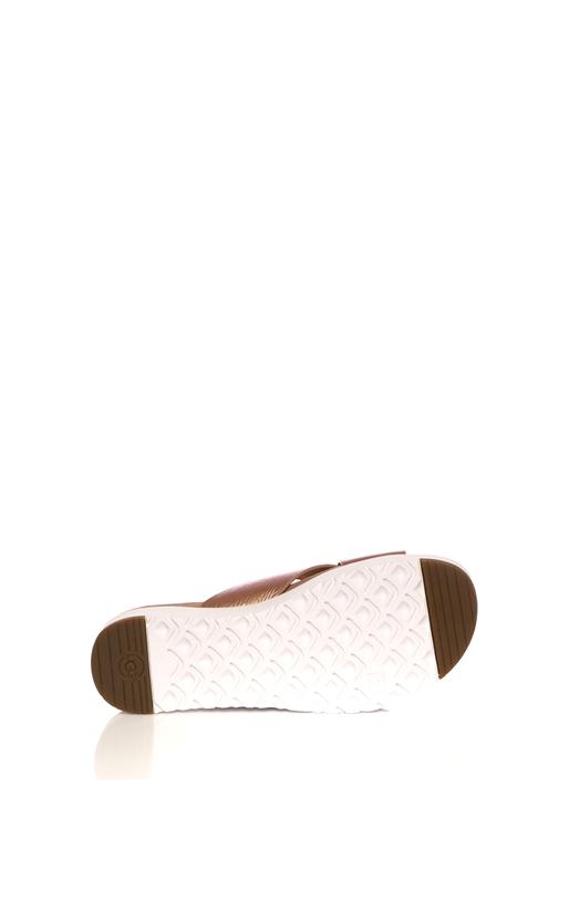 UGG -Γυναικείες παντόφλες χιαστί Ugg KARI METALLIC