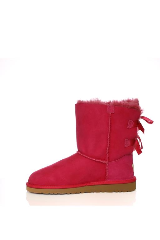 034a7ac2d4a Παιδικές μπότες Ugg φούξια για φιόγκους (1218901) | Collective Online