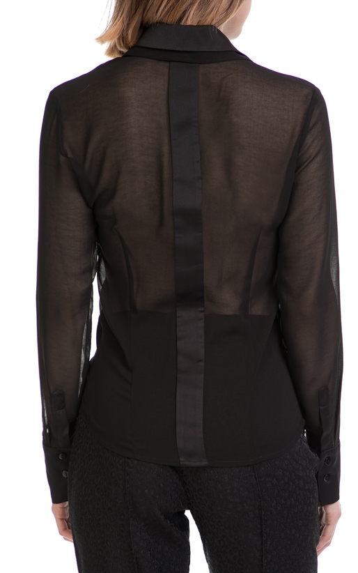 YVONNE BOSNJAK-Γυναικείο πουκάμισο YVONNE BOSNJAK μαύρο