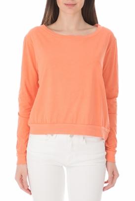 cc5b3ea687e7 AMERICAN VINTAGE-Γυναικεία μπλούζα REIKO πορτοκαλί