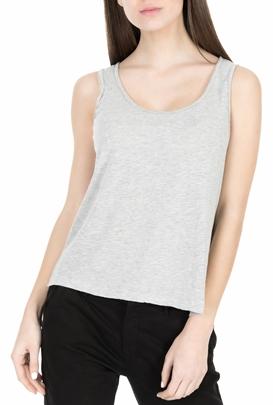 AMERICAN VINTAGE-Γυναικεία αμάνικη μπλούζα JOC40E18 γκρι