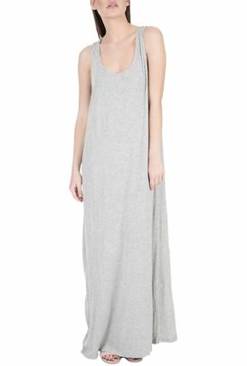 AMERICAN VINTAGE-Μάξι φόρεμα JOC43E18 γκρι