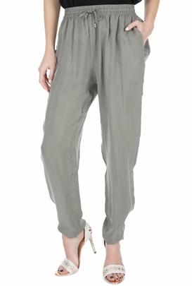 AMERICAN VINTAGE-Γυναικεία παντελόνα MEA190E18 γκρι-χακί