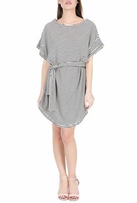 AMERICAN VINTAGE-Μίνι φόρεμα MUM79E18 ριγέ