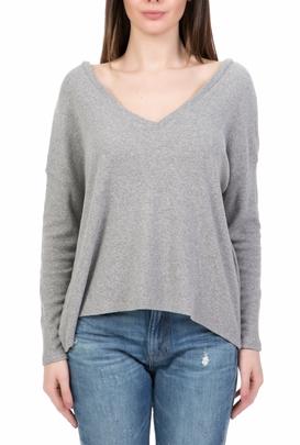 bb2120147286 AMERICAN VINTAGE-Γυναικεία μακρυμάνικη μπλούζα AMERICAN VINTAGE γκρι