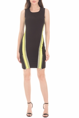 BYBLOS-Γυναικείο μίνι φόρεμα BYBLOS TUBINO μαύρο