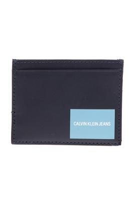 3401a17aa066 CALVIN KLEIN JEANS-Unisex θήκη για κάρτες CALVIN KLEIN JEANS μπλε