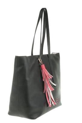 dbce1dd32c CALVIN KLEIN JEANS. Γυναικεία shopper bag CK POP μαύρη