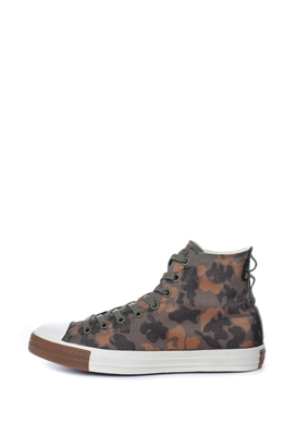 CONVERSE-Unisex ψηλά sneakers CONVERSE CHUCK TAYLOR ALL STAR χακί 796120fe4a9