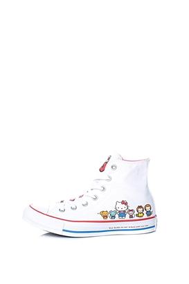 1f016bcbed4 CONVERSE-Unisex μποτάκια Converse x Hello Kitty HELLO KITTY CLASSIC HI λευκά