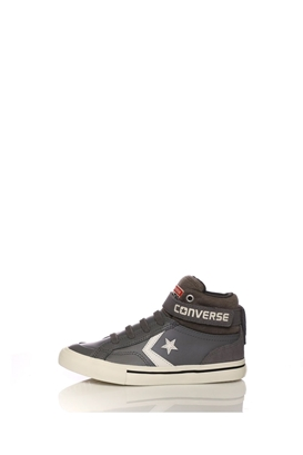 CONVERSE-Παιδικά παπούτσια CONVERSE Pro Blaze Strap Stretch Hi γκρι