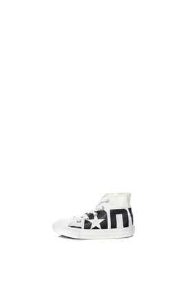 CONVERSE-Βρεφικά παπούτσια CONVERSE Chuck Taylor All Star Hi λευκά