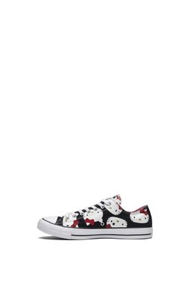 ab4256098a9 CONVERSE-Βρεφικά sneakers Converse x Hello Kitty Chuck Taylor All Star μαύρα