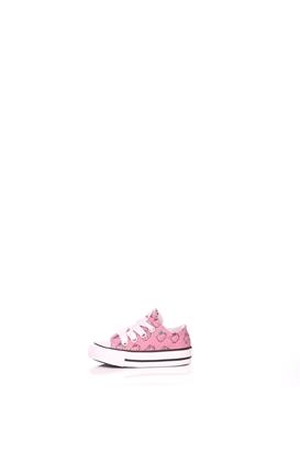 7a6bc48232 CONVERSE-Βρεφικά παπούτσια Converse X Hello Kitty Chuck Taylor All Star ροζ