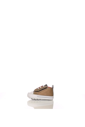 CONVERSE-Βρεφικά παπούτσια CONVERSE Chuck Taylor First Star καφέ