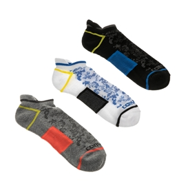 CONVERSE-Σετ κοντές ανδρικές κάλτσες Converse Men's Camo