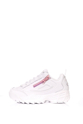 FILA-Γυναικεία παπούτσια FILA  DISRUPTOR 3 ZIP λευκά