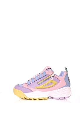 FILA-Γυναικεία παπούτσια FILA  DISRUPTOR 3 ZIP ροζ-μοβ