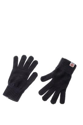 FRANKLIN & MARSHALL-Unisex γάντια FRANKLIN & MARSHAL μπλε