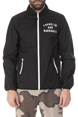 FRANKLIN & MARSHALL-Ανδρικό μπουφάν Franklin & Marshall μαύρο